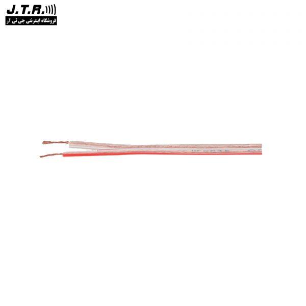 کابل بلندگو جی تی آر مدل JM-6015 حلقه 100 متری