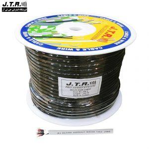 کابل مولتی پیر جی تی آر مدل JM4 حلقه ۱۰۰ متری