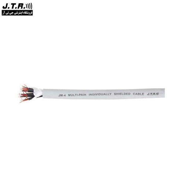 کابل مولتی پیر جی تی آر مدل JM4 حلقه 100 متری